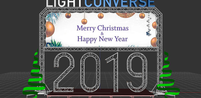 Merry Christmas and Happy New Year 2019!